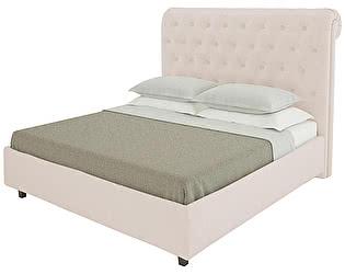 Кровать DG-Home Sweet Dreams 140х200 Велюр Светло-бежевый