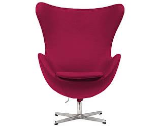 Кресло DG-Home Egg Chair Малиновая 100%  Шерсть