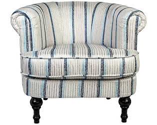 Кресло DG-Home Charlotte Bronte Белое в полоску