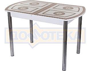Стол кухонный Домотека Гамма ПО-1 БЛ ст-71 02 белый