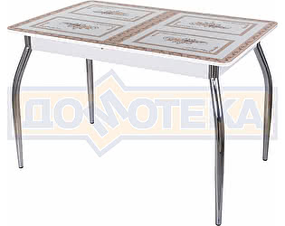 Стол кухонный Домотека Гамма ПР БЛ ст-72 01 белый