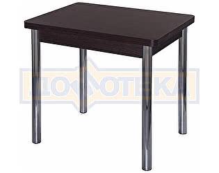 Купить стол Домотека Дрезден М-2 ВН 02 венге, ножки хром