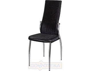 Купить стул Домотека Милано А-4/А-4 ченый венге с эффектом замши/повышенной комфортности
