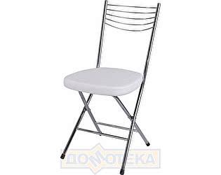 Купить стул Домотека Омега-1 скл. D-0/D-0 белый с узором, повышенной комфортности