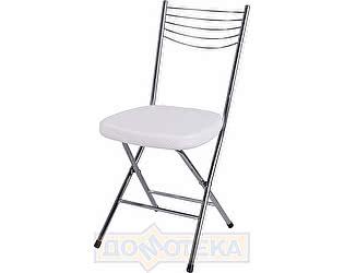 Купить стул Домотека Омега-1 скл. F-0/F-0 белый с плетеной текстурой, повышенной комфортности