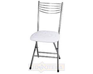 Купить стул Домотека Омега-1 скл. Д-0 белый с узором