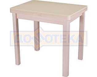 Купить стол Домотека Реал М-2 КМ 06 (6) МД 04 МД молочный дуб