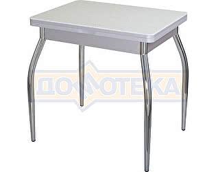 Стол кухонный Домотека Реал М-2 КМ 07 (6) СР 01 серый