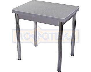 Стол кухонный Домотека Реал М-2 КМ 07 (6) СР 02 серый
