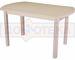 Стол кухонный Домотека Реал ПО КМ 06 (6) КР 04 МД крем