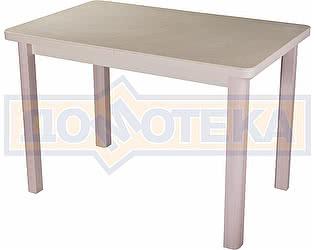 Стол кухонный Домотека Реал ПР КМ 06 (6) КР 04 МД крем