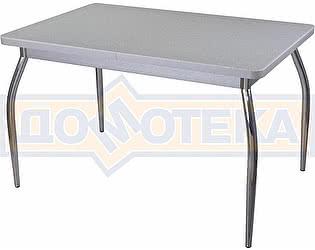 Стол кухонный Домотека Реал ПР КМ 07 (6) СР 01 серый