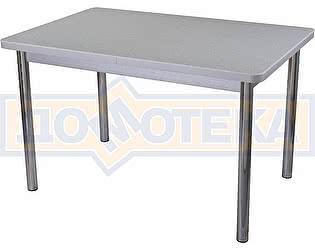 Стол кухонный Домотека Реал ПР КМ 07 (6) СР 02 серый