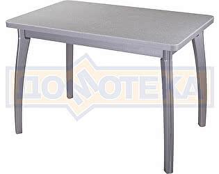 Стол кухонный Домотека Реал ПР КМ 07 (6) СР 07 ВП СР серый