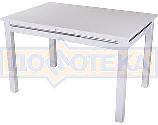 Стол обеденный Домотека Сигма-1 БЛ 08 БЛ белый