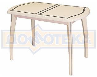 Купить стол Домотека Толедо ПО МЗ 36 ВП КР 07 ВП КР крем