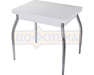 Стол кухонный Домотека Чинзано М-2 БЛ ст-БЛ 01 белый
