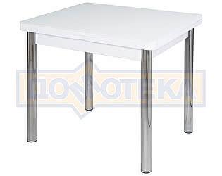 Стол кухонный Домотека Чинзано М-2 БЛ ст-БЛ 02 белый