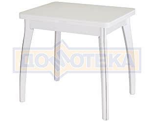 Стол кухонный Домотека Чинзано М-2 БЛ ст-БЛ 07 ВП БЛ белый