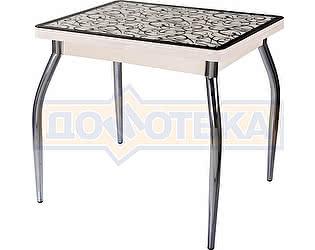 Купить стол Домотека Чинзано М-2 МД ст-2 ВН/КР 01 молочный дуб