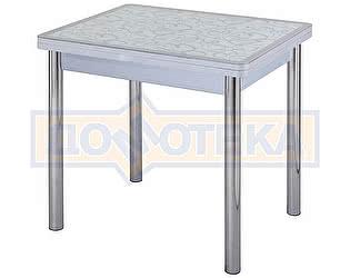 Стол кухонный Домотека Чинзано М-2 СР ст-2 СР/БЛ 02 серый