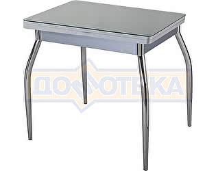 Стол кухонный Домотека Чинзано М-2 СР ст-СР 01 серый