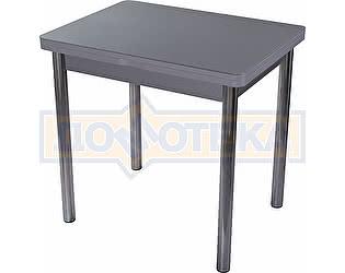 Стол кухонный Домотека Чинзано М-2 СР ст-СР 02 серый