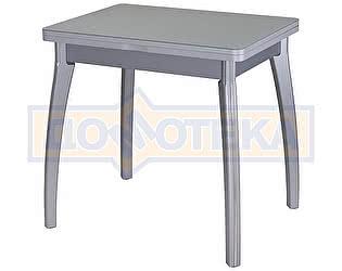 Стол кухонный Домотека Чинзано М-2 СР ст-СР 07 ВП СР серый