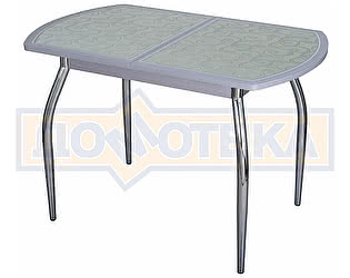 Стол кухонный Домотека Чинзано ПО СР ст-13 Д-1 01 серый