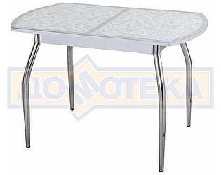 Стол кухонный Домотека Чинзано ПО СР ст-2 СР/БЛ 01 серый