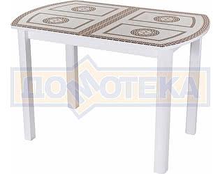 Стол кухонный Домотека Гамма ПО БЛ ст-71 04 БЛ белый