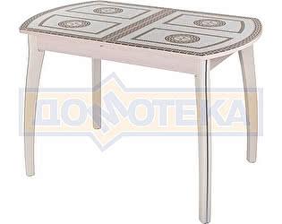 Купить стол Домотека Гамма ПО МД ст-71 07 КР молочный дуб