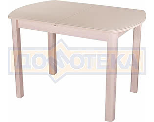 Купить стол Домотека Гамма ПО МД ст-КР 04 МД молочный дуб