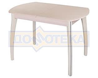 Купить стол Домотека Гамма ПО МД ст-КР 07 КР молочный дуб