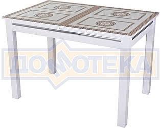Стол кухонный Домотека Дельта БЛ ст-71 08 БЛ белый