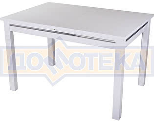 Стол кухонный Домотека Сигма БЛ 08 БЛ белый
