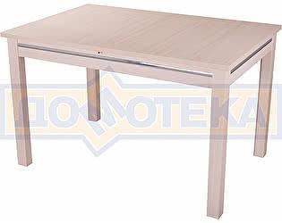 Стол кухонный Домотека Сигма МД 08МД молочный дуб