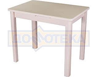 Купить стол Домотека Альфа ПР-М КМ 06 (6) МД 04 МД молочный дуб