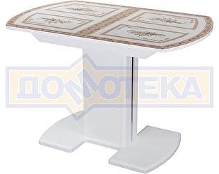 Купить стол Домотека Гамма ПО БЛ ст-72 05 ЛДСП БЛ/БЛ