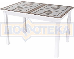 Купить стол Домотека Танго ПР-1 БЛ ст-71 04 ВЛ ,белый