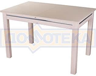 Купить стол Домотека Вальс МД ст-КР 08 МД, молочный дуб