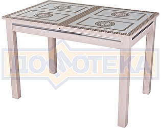 Купить стол Домотека Вальс МД ст-71 08 МД, молочный дуб