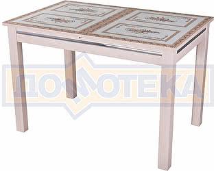 Купить стол Домотека Вальс МД ст-72 08 МД, молочный дуб