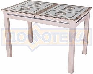 Купить стол Домотека Вальс-1 МД ст-71 08 МД, молочный дуб