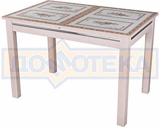Купить стол Домотека Вальс-1 МД ст-72 08 МД, молочный дуб