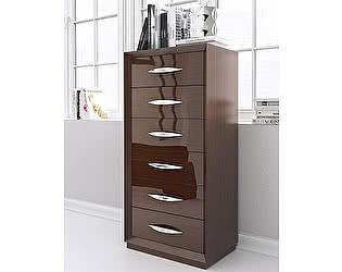 Купить комод Franco Furniture вертикальный FRANCO 1028 CARMEN темный орех