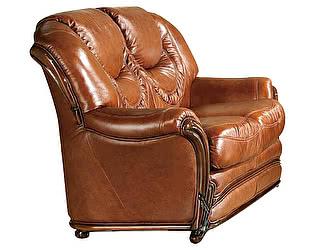 Купить кресло ESF A-67 (2-х местный) коричневый