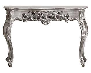 Купить стол Dupen Консоль К57 серебро