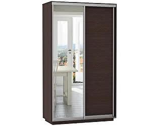 Купить шкаф Е 1 купе 2-х дверный Медиум 1400