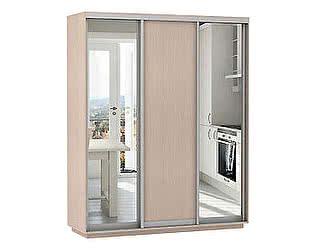 Купить шкаф Е 1 купе 3-х дверный Медиум 1800 (2 зеркала)